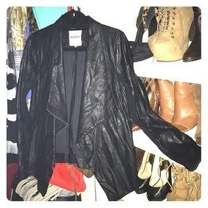 BB Dakota Black Leather Jacket